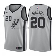 Maillot Basket Enfant San Antonio Spurs 2018 Manu Ginobili 20# Statement Edition..